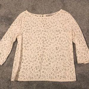 Ann Taylor Loft lace shirt